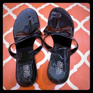 Coach sandal size 10